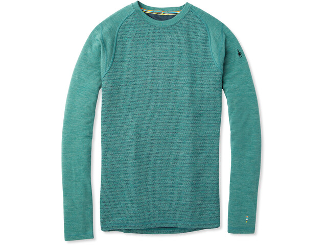 Smartwool Merino 250 Pattern Bluse Herrer, pine gray tick stitch